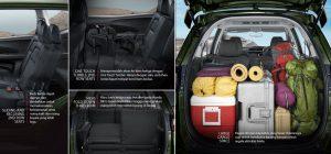 Honda BRV Bagasi, Spesifikasi dan Harga Honda BRV 2017