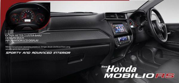 Honda Mobilio interior 2