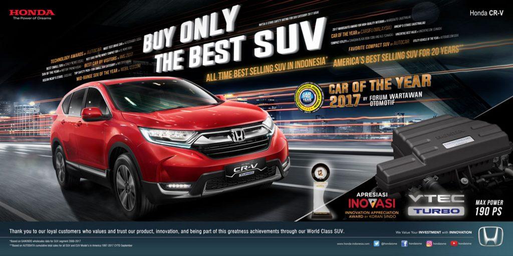 Kredit Honda CRV Bandung 2018 (10)