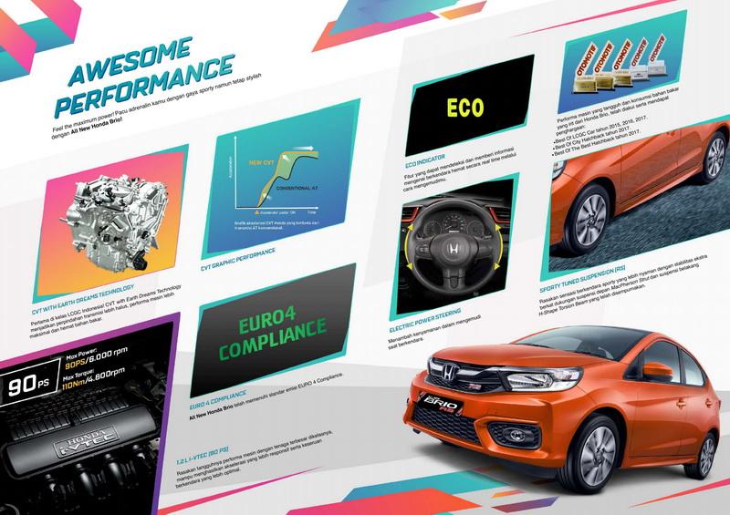 Harga Honda All new Honda Brio Satya Bandung Cimahi 2